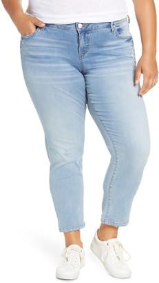 SLINK Jeans Crop Boyfriend Jeans