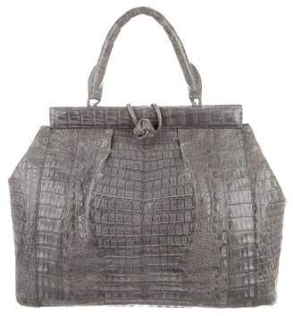 Nancy Gonzalez Crocodile Tote Bag