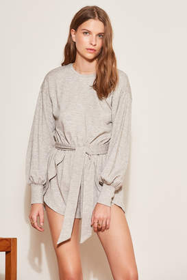 THE FIFTH WHISTLE LONG SLEEVE PLAYSUIT grey marle