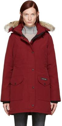 Canada Goose Red Trillium Parka $895 thestylecure.com