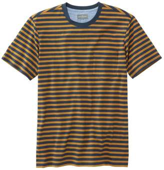 L.L. Bean L.L.Bean Men's Signature Pocket Tee, Short-Sleeve, Stripe