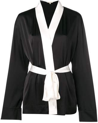 Gold Hawk monochrome robe