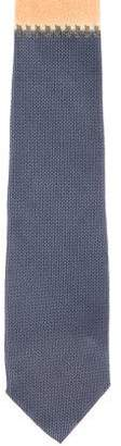 Gianni Versace Two-Tone Silk Tie