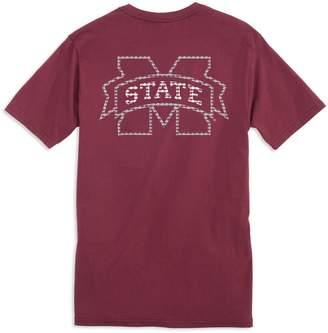 Southern Tide Skipjack Fill T-Shirt - Mississippi State University