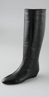 Loeffler Randall Matilde Flat Wedge Leather Boot