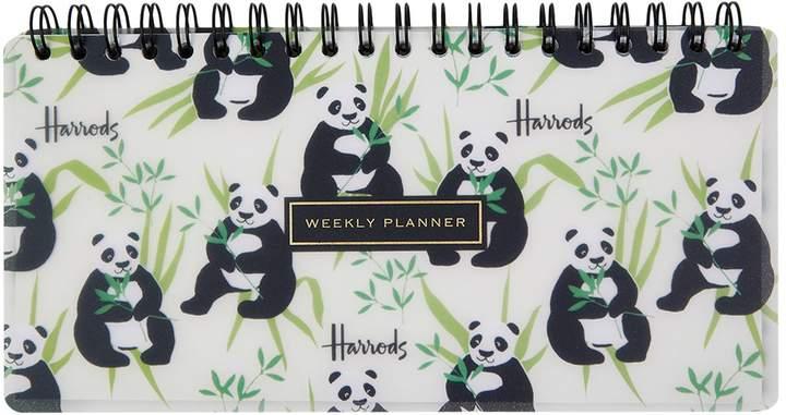 Panda Weekly Planner, White