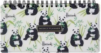Harrods Panda Weekly Planner