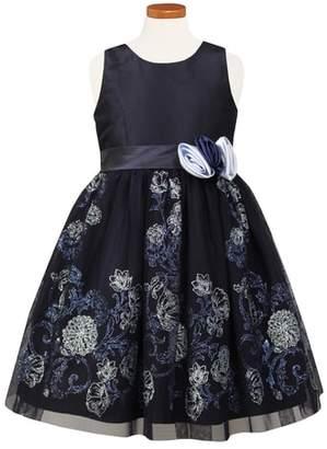 Sorbet Glitter Embellished Party Dress
