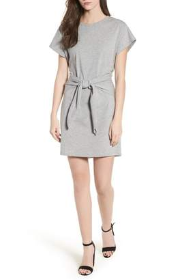 Lush Tie Waist T-Shirt Dress