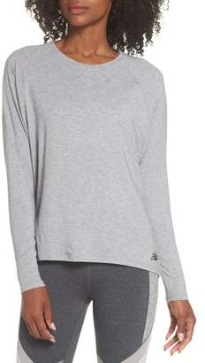 New Balance (ニュー バランス) - New Balance Release Open Back Long Sleeve Sweatshirt
