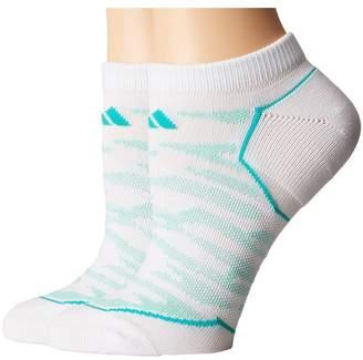 adidas Superlite Prime Mesh 2-Pack No Show Socks Women's No Show Socks Shoes