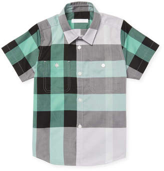 Burberry Boy's Checkered Shirt
