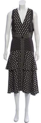 Proenza Schouler Sleeveless Printed Dress w/ Tags