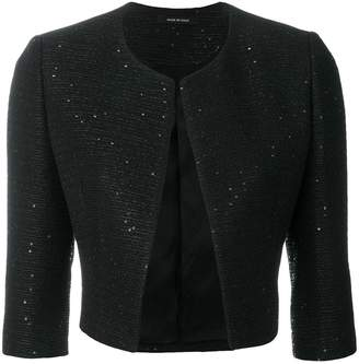 Tagliatore cropped fitted jacket