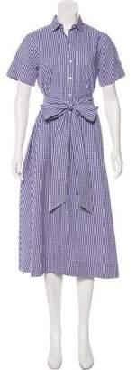 Lisa Marie Fernandez Button-Up Midi Dress