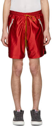 Rhude Burgundy P.E. Shorts