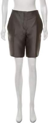 Prada Silk-Blend Knee-Length Shorts