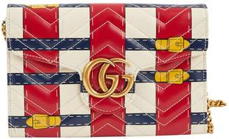 Gucci Marmont leather clutch bag