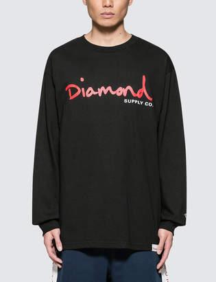 Diamond Supply Co. Snake L/S T-Shirt
