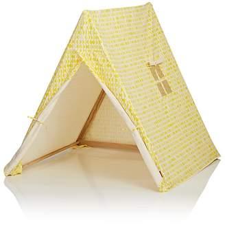 DEUZ Leaf-Print Organic Cotton Tent