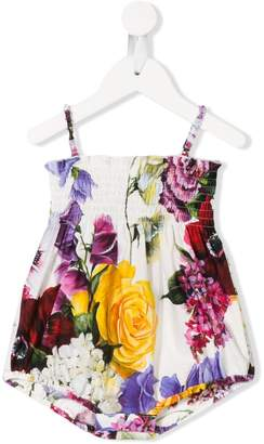 Dolce & Gabbana floral print bodysuit