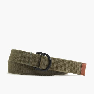 J.Crew Cotton belt in olive