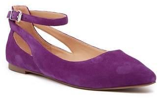 Franco Sarto Sylvia Ankle Strap Ballet Flat