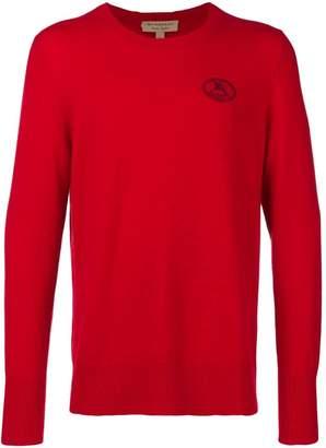 Burberry logo crest sweater