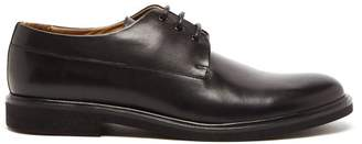 A.P.C. Gustave Leather Derby Shoes - Mens - Black