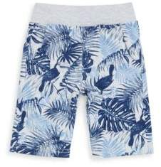 Little Boy's Cotton-Blend Pull-On Printed Shorts