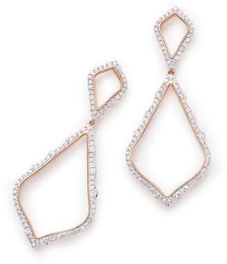 Kendra Scott Alexa Pave Diamond Statement Earrings
