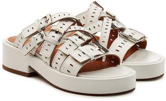 Robert Clergerie Fantom Leather Sandals