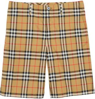 Burberry Tristen Check Shorts