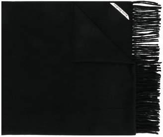 Acne Studios cashmere Canada fringed scarf