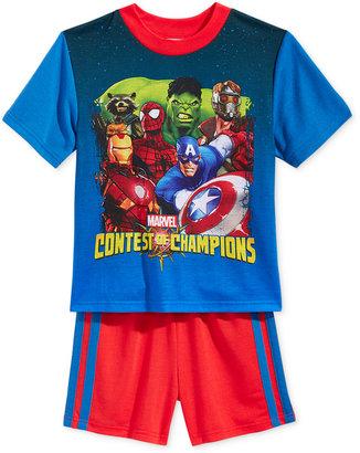 Avengers 2-Pc. Contest of Champions Pajama Set, Little Boys (2-7) & Big Boys (8-20) $36 thestylecure.com