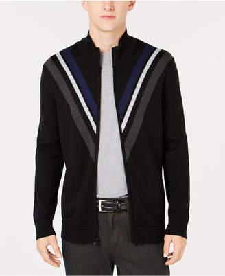 Alfani Men's Zip-Front Cardigan, Created for Macy's
