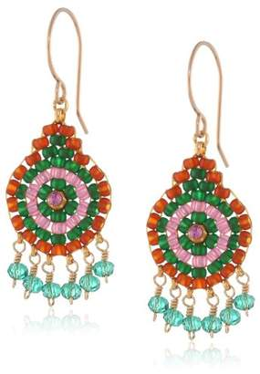 Miguel Ases Hydro-Quartz Dangle Earrings