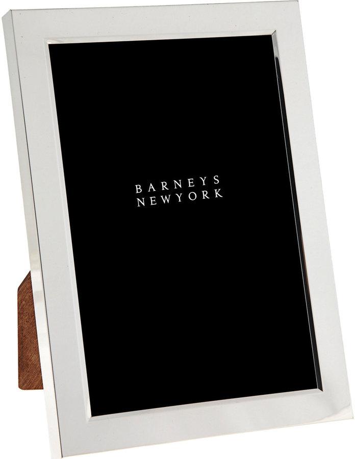 "Barneys New York 4"" x 6"" Silver Frame"