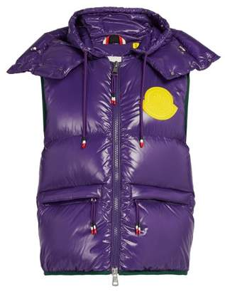 Moncler 2 1952 - Lorent Quilted Down Gilet - Mens - Purple Multi
