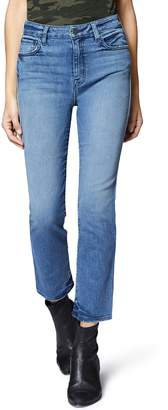 Sanctuary Modern High Waist Crop Straight Leg Jeans