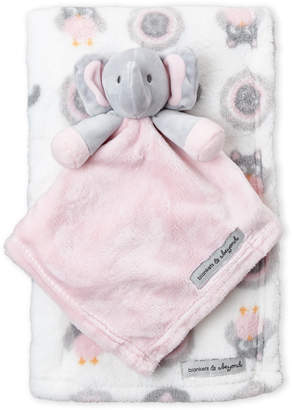 Baby Essentials Blankets & Beyond Two-Piece Elephant Baby Blanket Set
