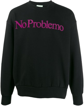 Aries 'no problemo' print sweatshirt