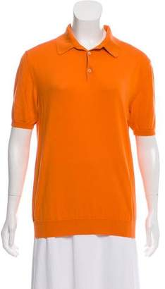 Malo Short Sleeve Polo Top