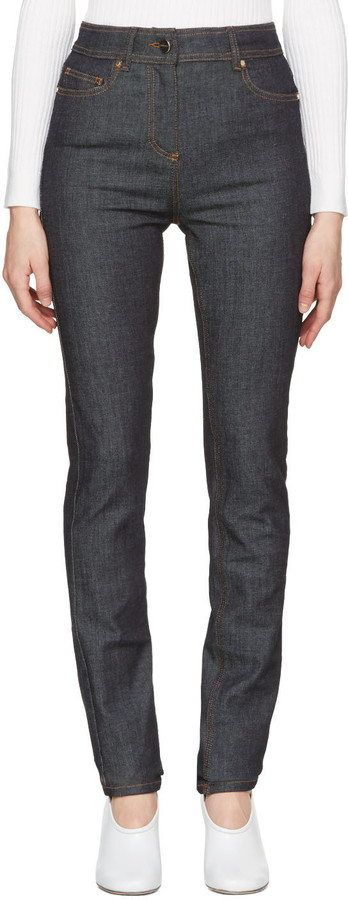 Carven Carven Indigo Fitted Jeans