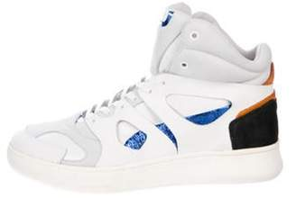 Alexander McQueen x Puma Leather High-Top Sneakers w/ Tags white x Puma Leather High-Top Sneakers w/ Tags
