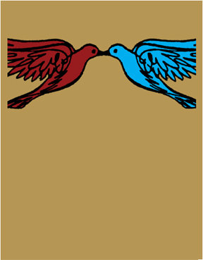 Seattle Show Posters Love Birds Poster