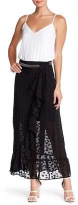 Religion Radiance Maxi Wrap Skirt
