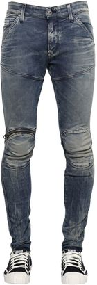 15cm 5620 Elwood Superslim Zip Jeans $226 thestylecure.com