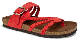 White Mountain Hayleigh Flat Sandals Women Shoes