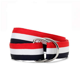 Brooks Brothers Boys Stripe Ribbon Belt